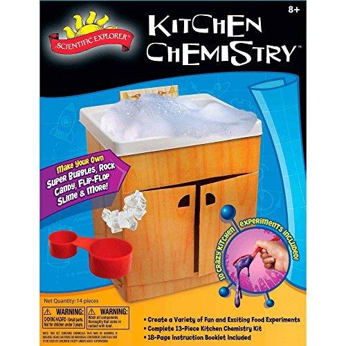 Scientific Explorer Kitchen Chemistry Kit by GO-SCIENCE