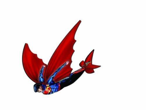 X-Kites Flexwing 3-d Nylon 16-inches Glider Superman
