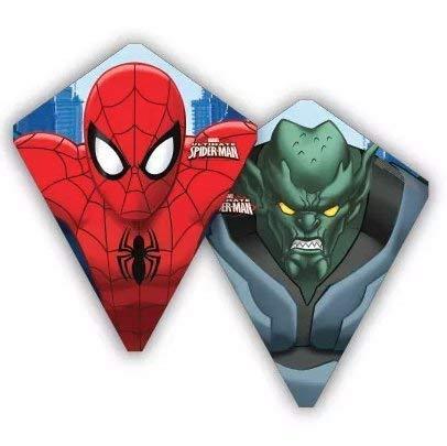 X-Kites FlipFlop Spiderman Reversible 30 Inch Poly Diamond Kite
