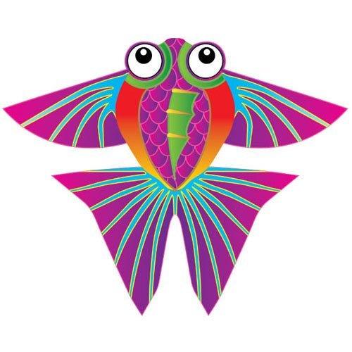 X-Kites MicroKite Mini Mylar Kite - Tropical Fish
