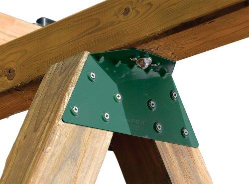 Swing-N-Slide NE 4467-1 EZ Frame Bracket for Swing Set Swing Beam Includes 1 Bracket Green
