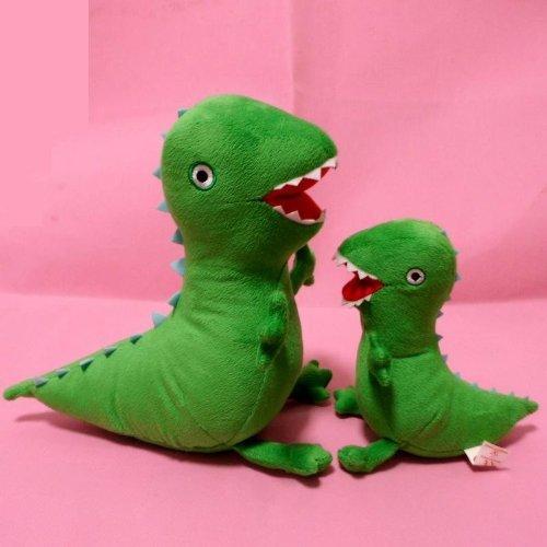 TinTek65 85 Peppa Pig George Pig Pet Dinosaur Dragon Set 2 PCS Anime Animal Soft Fluffy Stuffed Pillow Plush Doll Toys 65  85 Inches Green