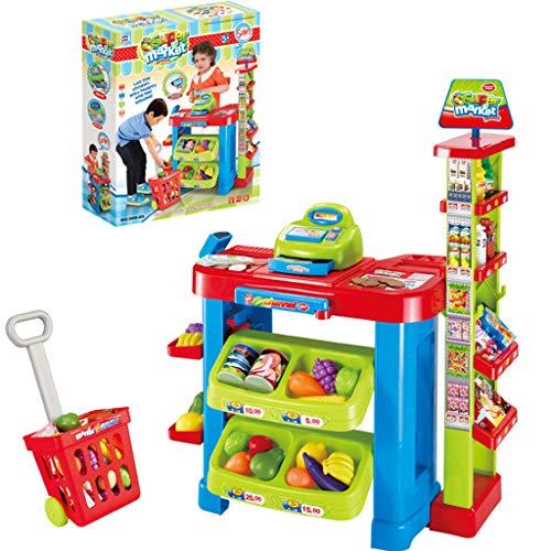 PBudiYr Pretend PlaySupermarket Toy Console Toy Pretend Toy Workbench Holiday Birthday Gift
