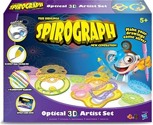 The Original Spirograph New Generation Spirograph Optical 3D Artist Set by Spirograph