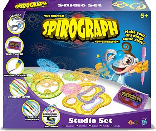 The Original Spirograph New Generation Spirograph Studio Set