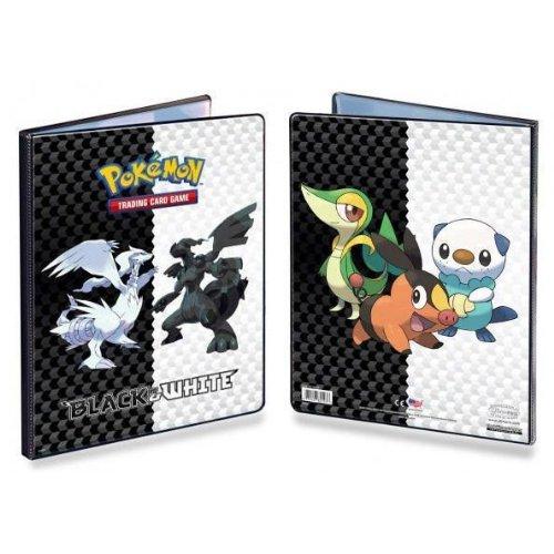 Pokemon CCG Black White 9-Pocket Portfolio Series 5 - Combo Album Pokemon Trading Card Album  Binder Snivy Tepig Oshawott On Back Cover