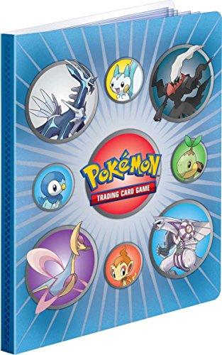 Pokemon DIAMOND PEARL Generic III Lenticulatr Album Soft Plastic Cover - 4 POCKET PORTFOLIO Pokemon Trading Card Album  Binder 82104-3