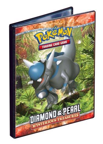 Ultra PRO Pokemon DIAMOND PEARL Mysterious Treasures - Combo Album - 4 POCKET PORTFOLIO Pokemon Trading Card Album  Binder Out of PRINT