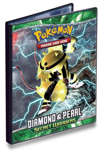 Ultra PRO Pokemon DIAMOND PEARL SECRET WONDERS - Combo Album - 4 POCKET PORTFOLIO - Pokemon Trading Card Album  Binder