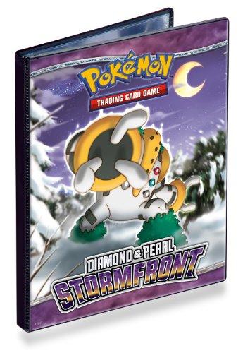 Ultra PRO Pokemon DIAMOND PEARL - Stormfront - Combo Album - 4 POCKET PORTFOLIO Pokemon Trading Card Album  Binder