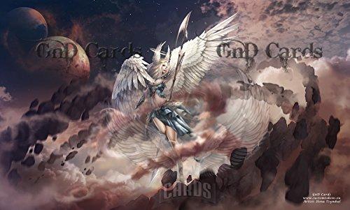 Archangel Gabriel Custom Playmat MTG
