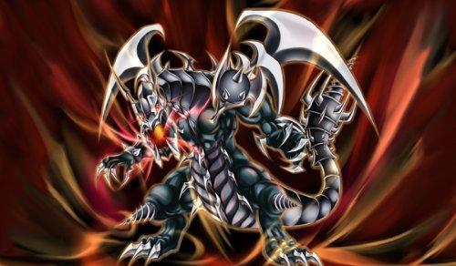 Yugioh Fanart Dark Armed Dragon Custom Playmat  Gamemat  Mat