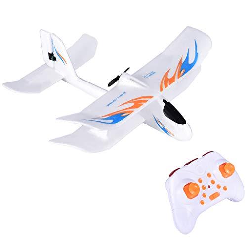 MiaoC-Rc Airplane Ready to Flye Remote Control Planes JJRC ZSX-280 24G EPP 280mm Wingspan Indoor Biplane Glider RC Airplane RTF