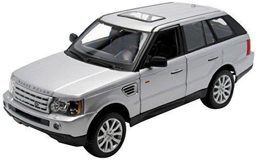 Maisto 118 Scale Silver Range Rover Sport by Maisto Tech