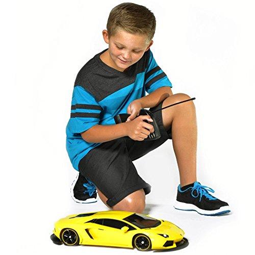 Maisto Tech 110 Yellow Lamborghini Aventador RC Remote Control Car
