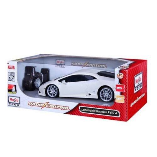 Maisto Tech 114 Scale White Lamborghini Huracan LP 610-4 Radio Control