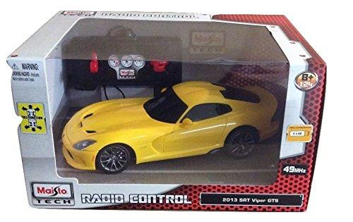 Maisto Tech Radio Control 2013 SRT Viper GTS