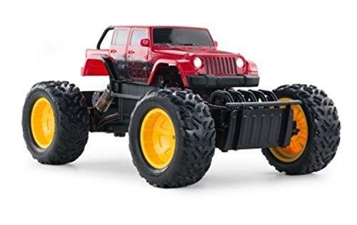 118 Radio Remote Control Road Laserstar Rock Crawler 4X4 Truck RC RTR Red