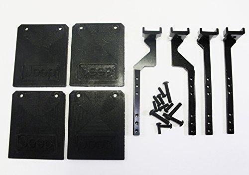 ALIENTAC Fender Set Black for 110 RC Crawler SCX10