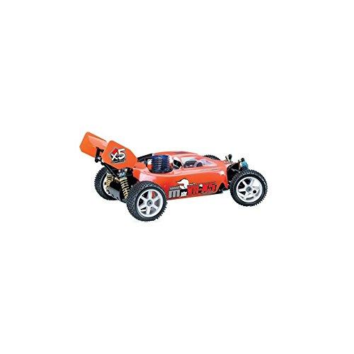 Azimporter Preschool Children Activity Playset RC 35-45mph Nitro Buggy Engine 018 With 2 Gears GCX5 YELLOW