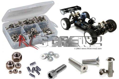 RCScrewZ Team Losi 8ight 30 Nitro Buggy Stainless Screw Kit los069
