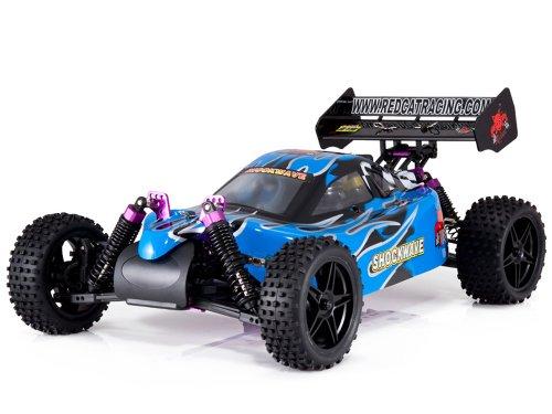 Redcat Racing Shockwave Nitro Buggy Blue 110 Scale