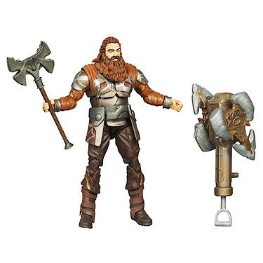 Thor The Mighty Avenger Action Figure 10 Ram Smash Volstagg 375