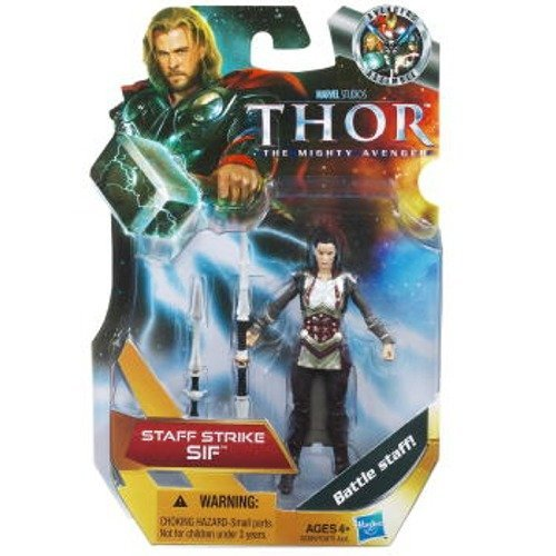 Thor The Mighty Avenger Action Figure 16 Staff Strike Sif 375 Inch