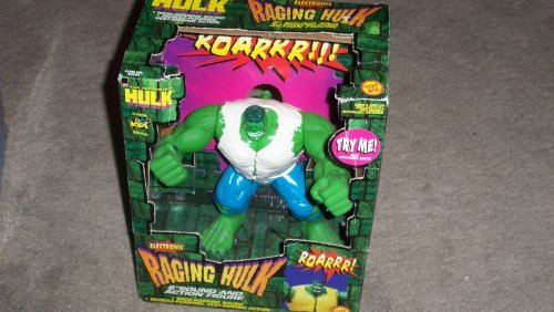 Electronic Raging Incredible Hulk Action Figure by Toy Biz