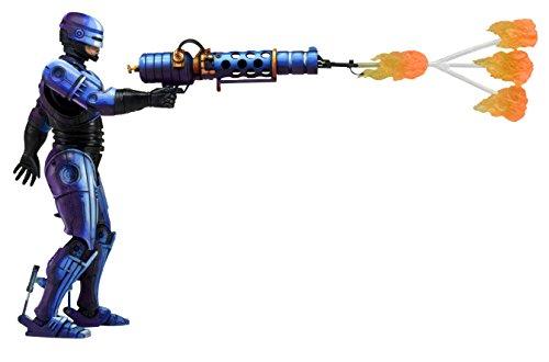 NECA Robocop vs Terminator 93 Video Game 7 Series 2 Robocop Action Figure with Flamethrower