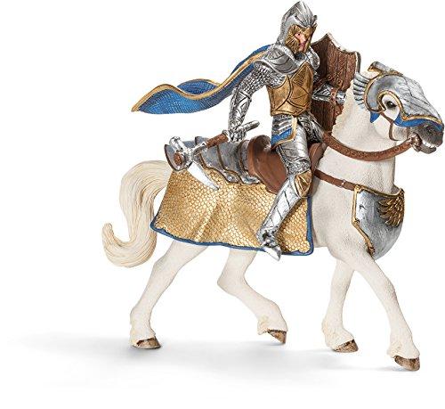 Schleich Griffin Knight Action Figure on Horse