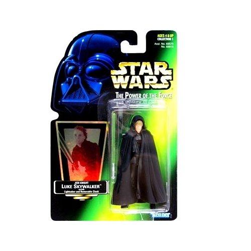 Star Wars Power of the Force Green Card Luke Skywalker Jedi Knight Action Figure