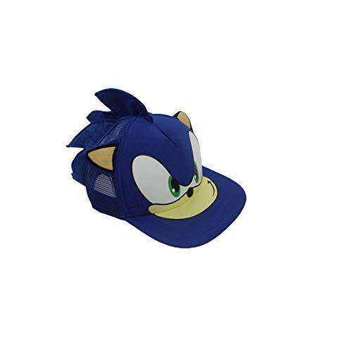 NATTEL Blue Sonic The Action Figure Toys Cosplay Adjustable Baseball Cartoon Perimeter