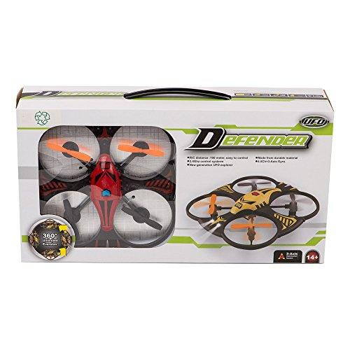 Defender Miniature Red RC Quadrocopter