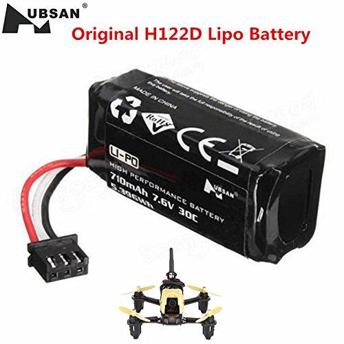 Original Hubsan H122D Battery RC Quadcopter Spare Parts 76V 710mAh 30C Battery H122D-16 Spare Parts
