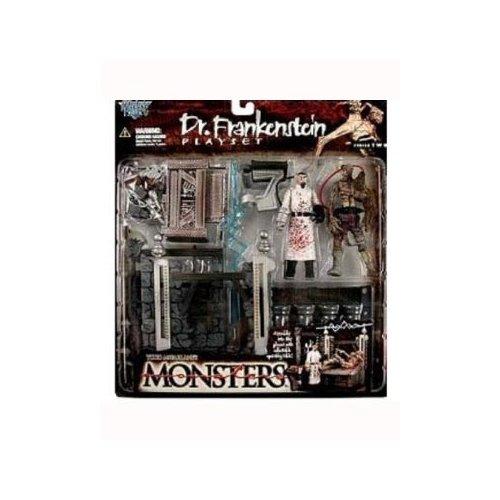 McFarlanes Monsters Series 2 Dr Frankenstein Action Figure Playset