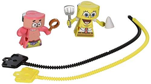 VS Rip-Spin Warriors SpongeBob vs Patrick Warior Action Figure Playset 2 Pack