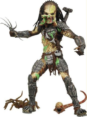 Alien VS Predator Requiem NECA Action Figure Series 4 Battle Damaged Unmasked Predator