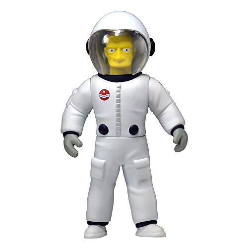 NECA Simpsons 25th Anniversary Series 4 Buzz Aldrin 5 Celebrity Action Figure