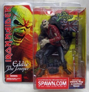 Iron Maiden Eddie The Trooper Mcfarlane Action Figure