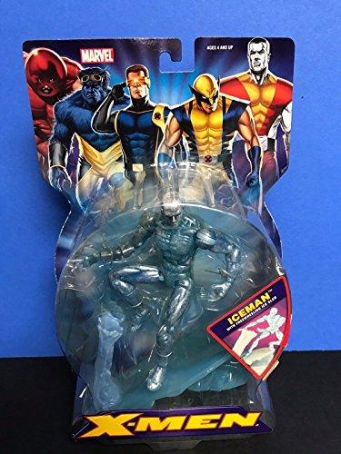 Legends Iceman 2006 ToyBiz Marvel X-Men Action Figure with Freewheeling Ice Sled