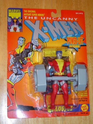 X Men The Uncanny Colossus WPower-Lift 5 Action Figure 1993 ToyBiz