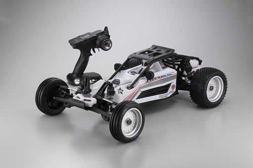 Kyosho EP Scorpion XXL VE Brushless RC Car 17 Scale Type 1 White