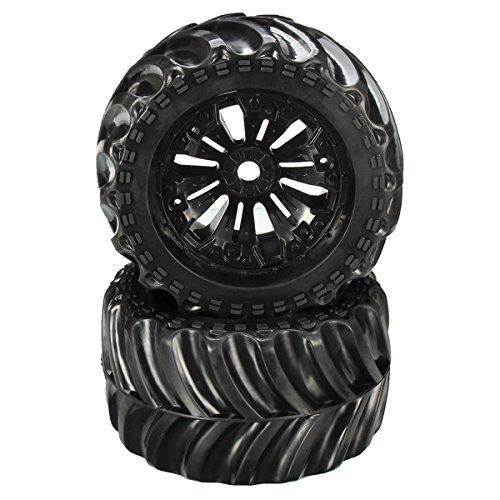 New JLB Racing CHEETAH 110 Brushless RC Car Monster Trucks 11101 2PCS Wheel By KTOY