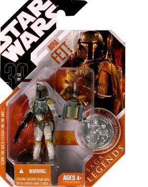 Star Wars 30th Anniversary Saga 2007 Legends Action Figure Wave 2 11 Boba Fett