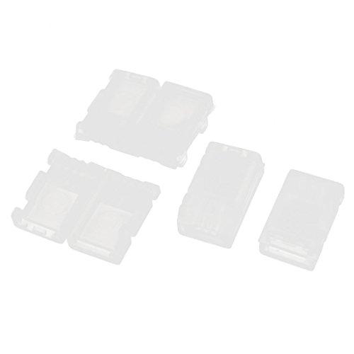 uxcell 4Pcs White Plastic AB Clip Balance Plug for RC 74V 2S Lipo Battery