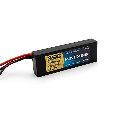 Kinexsis 74V 5000mAh 2S 35C LiPo Hard Case EC3 Battery