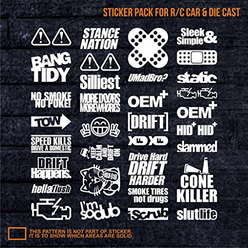 jdm remote control rc battery diesel evo taurus corvette white decal drift furious germany truck car machine supra zonda impreza brz hrv m3