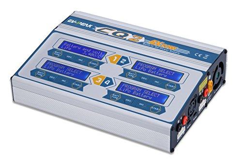 EV-PEAK CQ2 50Wx4 6A 4 Port RC Drone Battery Balance Charger Discharger