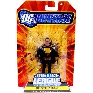 DC Universe Justice League Unlimited Exclusive Shazam Family Action Figure Black Adam